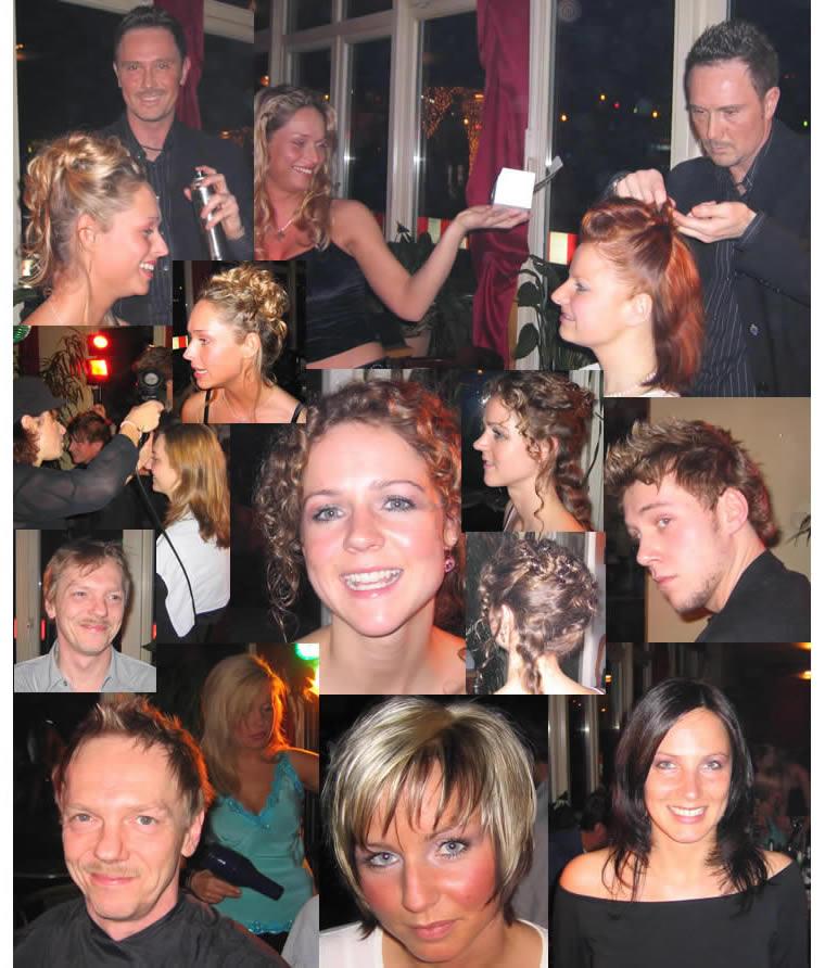 Hauptsache Friseur Styling Aktion Villa Media 2005